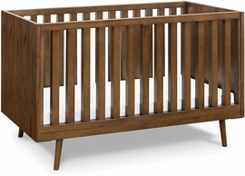 Ubabub Nifty Timber 3-in-1 Crib - Walnut