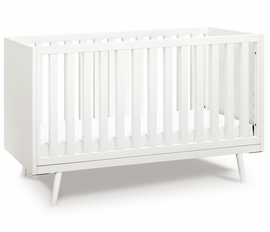 Ubabub Nifty Timber 3-In-1 Crib - Warm White Finish