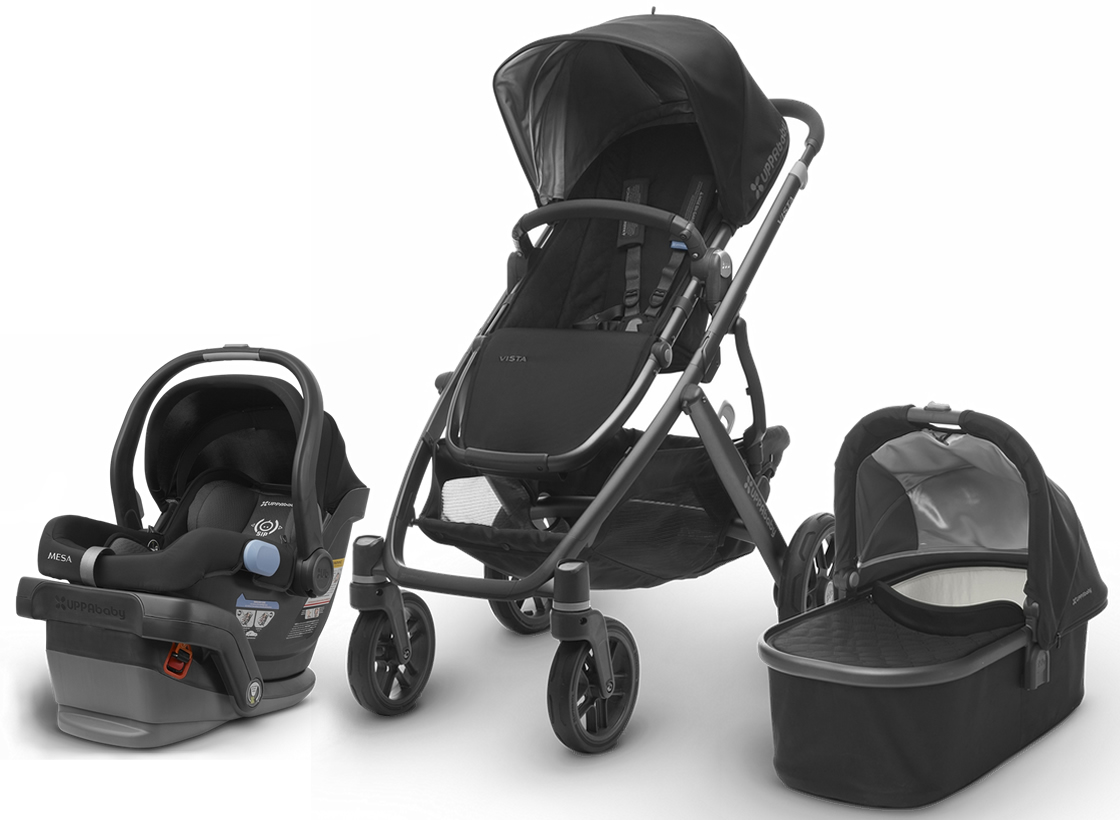 Uppababy 2017 Vista Amp Mesa Travel System Jake