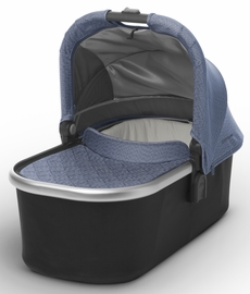 UPPAbaby 2018 / 2019 Bassinet - Henry (Blue Marl/Silver)
