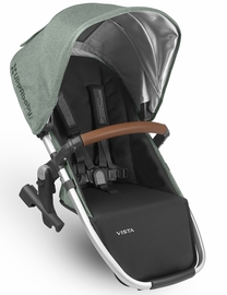 UPPAbaby 2018 / 2019 VISTA RumbleSeat - Emmett (Green Melange/Silver/Saddle Leather)