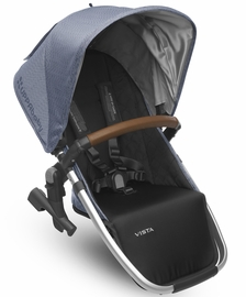 UPPAbaby 2018 / 2019 VISTA RumbleSeat - Henry (Blue Marl/Silver/Saddle Leather)