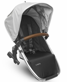 UPPAbaby 2018 / 2019 VISTA RumbleSeat - Loic (White/Silver/Saddle Leather)