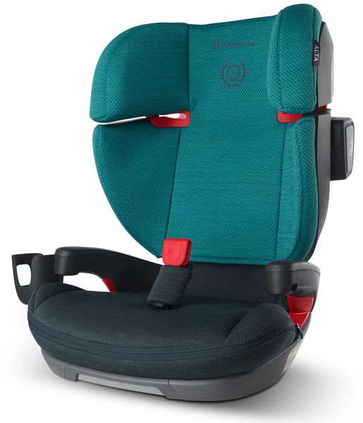 UPPAbaby 2020 Alta Belt Positioning Booster Seat - Lucca (Teal Mélange)