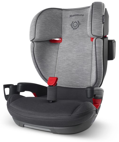 UPPAbaby 2020 Alta Belt Positioning Booster Seat - Morgan (Charcoal Mélange)