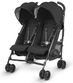 UPPAbaby G-LINK 2 Double Stroller - Jake (Black/Carbon)