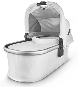 UPPAbaby Bassinet - Bryce (White Marl/Silver/Chestnut Leather)