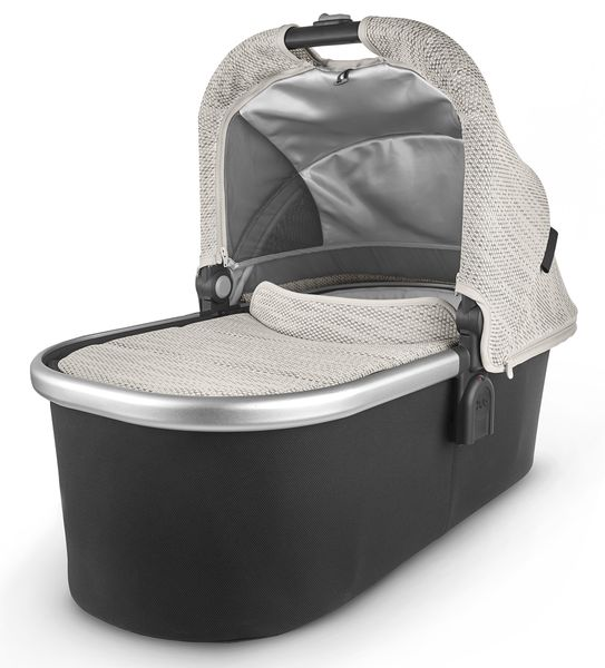 UPPAbaby Bassinet - Sierra (Dune Knit/Silver/Black Leather)