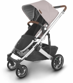 UPPAbaby 2020 Cruz V2 Stroller - Alice (Dusty Pink/Silver/Saddle Leather)