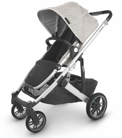 UPPAbaby 2020 Cruz V2 Stroller - Sierra (Dune Knit/Silver/Black Leather)