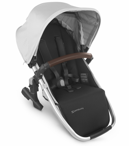 UPPAbaby Rumbleseat V2 - Bryce (White Marl/Silver/Chestnut Leather)