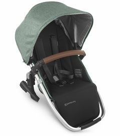 UPPAbaby 2020 Rumbleseat V2 - Emmett (Green Mélange/Silver/Saddle Leather)