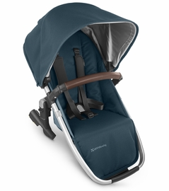 UPPAbaby 2020 Rumbleseat V2 - Finn (Deep Sea/Silver/Chestnut Leather)