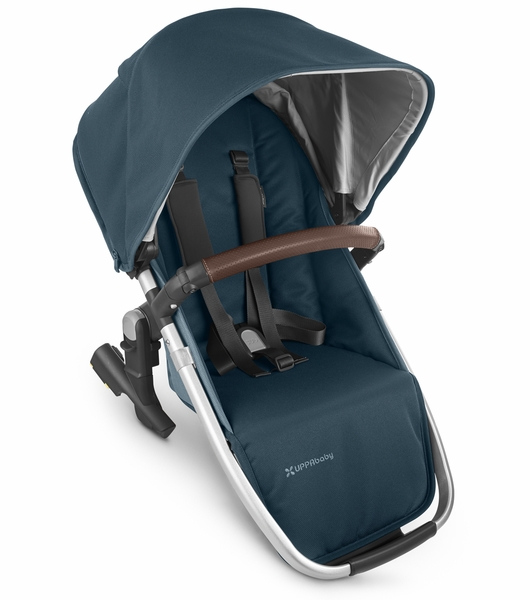 UPPAbaby Rumbleseat V2 - Finn (Deep Sea/Silver/Chestnut Leather)