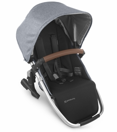 UPPAbaby 2020 Rumbleseat V2 - Gregory (Blue Mélange/Silver/Saddle Leather)