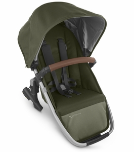 UPPAbaby 2020 Rumbleseat V2 - Hazel (Olive/Silver/Saddle Leather)