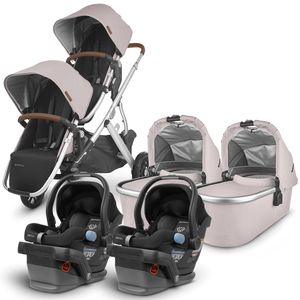 UPPAbaby 2020 Vista V2 Twin Travel System Stroller - Alice/Jake