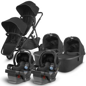 UPPAbaby 2020 Vista V2 Twin Travel System Stroller - Jake/Jake