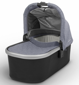 UPPAbaby 2017 Bassinet - Gregory (Blue Marl/Silver)