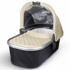 UPPAbaby Bassinet - Lindsey (Wheat/Silver)