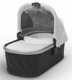 UPPAbaby 2017 Bassinet - Loic (White/Silver)