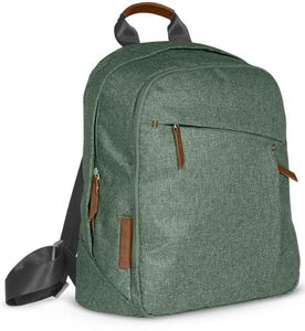 UPPAbaby Changing Backpack Diaper Bag - Emmett (Green Melange)