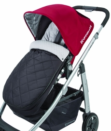 UPPAbaby Cozy Ganoosh Footmuff - Jake (Black)