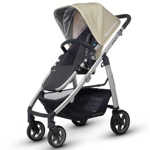 UPPAbaby 2016 CRUZ Stroller - Lindsey (Wheat/Silver)