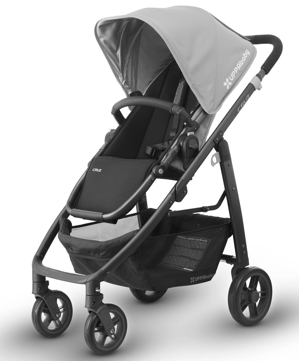 Uppababy 2017 Cruz Stroller Pascal Grey Carbon