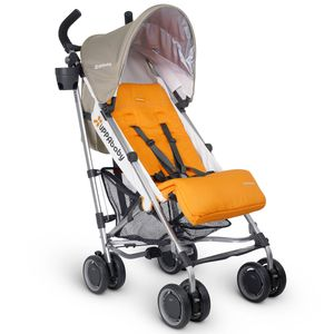 UPPAbaby 2017 G-LUXE Stroller - Ani (Orange/Silver)