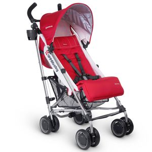 UPPAbaby 2017 G-LUXE Stroller - Denny (Red/Silver) - OPEN BOX RETURN
