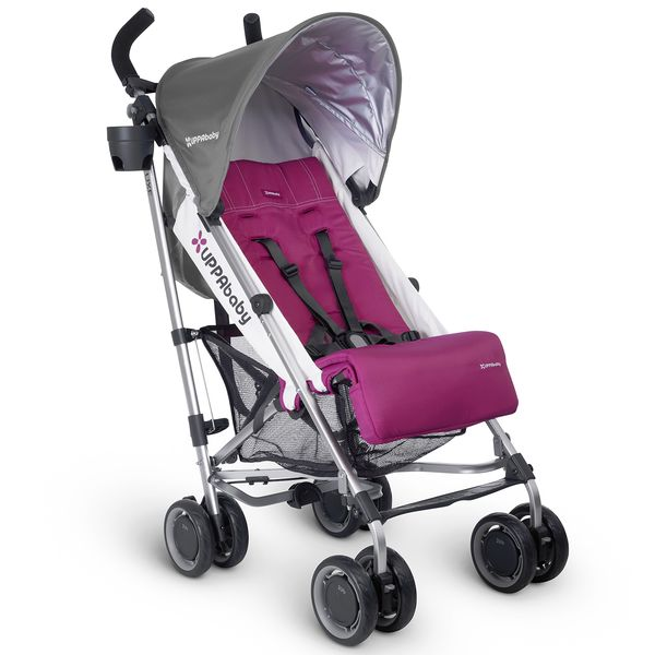 UPPAbaby 2017 G-LUXE Stroller - Makena (Purple/Silver) (Discontinued Fashion)