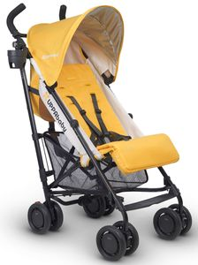 UPPAbaby 2017 G-Luxe Stroller - Maya (Marigold/Carbon)