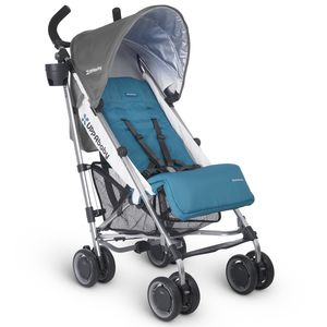 UPPAbaby 2017 G-LUXE Stroller - Sebby (Teal/Silver) (Discontinued Fashion)