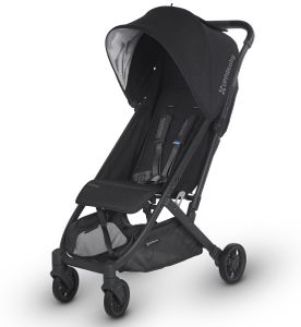 UPPAbaby Minu Stroller - Jake (Black Melange/Carbon/Black Leather)