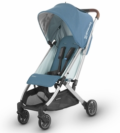 UPPAbaby Minu Stroller - Ryan (Teal Melange/Silver/Saddle Leather)