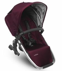 UPPAbaby 2017 RumbleSeat - Dennison (Bordeaux/Silver)