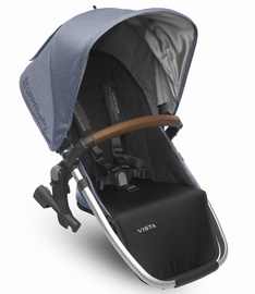 UPPAbaby 2017 RumbleSeat - Henry (Blue Marl/Silver/Leather)