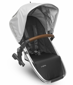 UPPAbaby 2017 RumbleSeat - Loic (White/Silver/Leather)