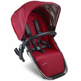 UPPAbaby VISTA 2015 RumbleSeat - Denny (Red/Silver)