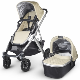 UPPAbaby 2016 VISTA Stroller - Lindsey (Wheat/Silver)