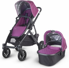 UPPAbaby 2014 VISTA Stroller - Samantha (Purple/Black) - OPEN BOX RETURN