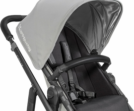 UPPAbaby Vista/Cruz Leather Bumper Bar Cover - Black