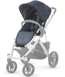 UPPAbaby Vista Replacement Fashion Seat/Canopy Kit - Cole