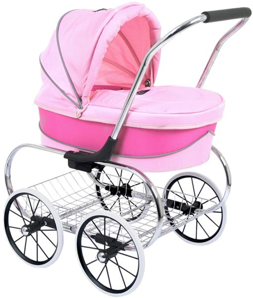 Valco Princess Doll Stroller - Pink