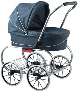 Valco Princess Tailormade Doll Stroller - Denim Blue