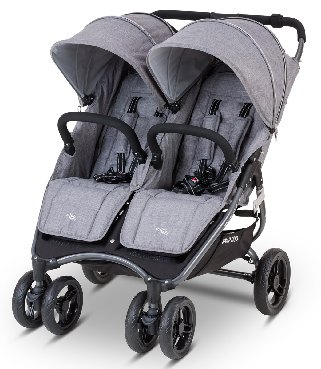 Valco Snap Duo Tailormade Stroller - Grey Marle