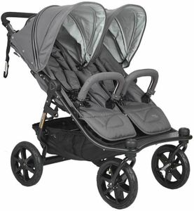 Valco Tri Mode Duo X Double Stroller - Dove Grey