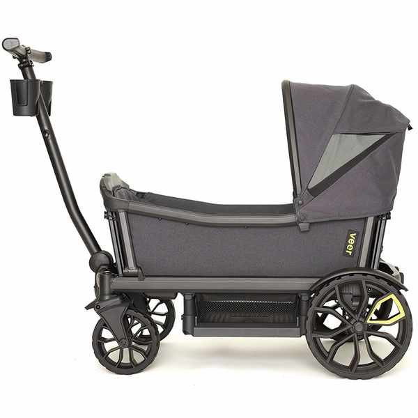 veer cruiser stroller wagon with retractable canopy 17