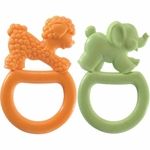 Vulli Vanilla Flavored Ring Teether 2 Pack